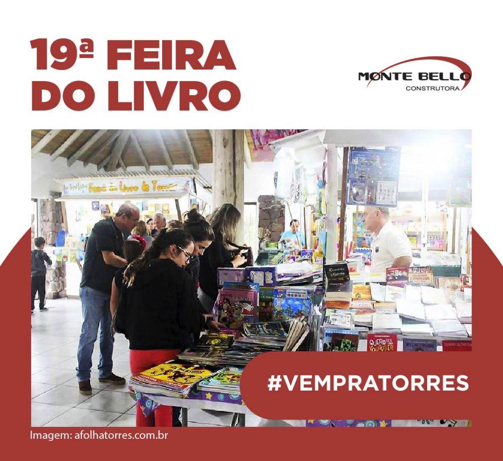 19ª Feira do Livro: história e cultura para Torres